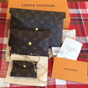 Authentic LV kirigami small, new